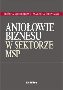 Aniołowie biznesu w sektorze MSP