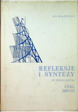 Refleksje i syntezy ze świata sztuki Cykl drugi