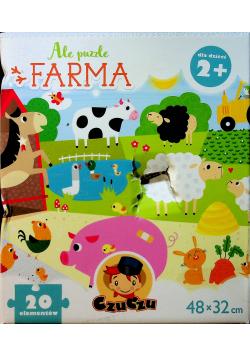 Ale puzzle Farma 20 elementów
