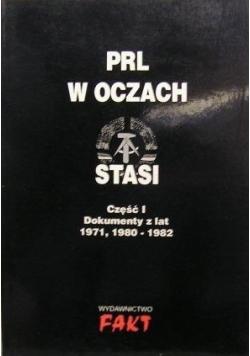 PRL w oczach Stasi  Cz I