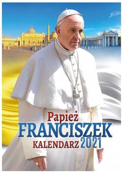 Kalendarz 2021 Ścienny papież Franciszek ekonom.