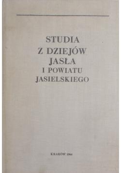 Studia z dziejów Jasła i powiatu Jasielskiego