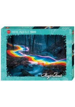 Puzzle 1000 Magiczny las, Tęczowa droga