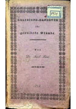Religions - Wissenshaft 1828 r