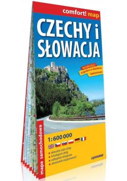 Comfort! map Czechy i Słowacja 1:600 000 mapa