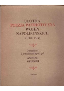 Ulotna Poezja Patriotyczna Wojen Napoleońskich
