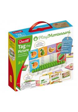 Montessori - Tablica z obrazkami