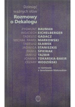Rozmowy o Dekalogu