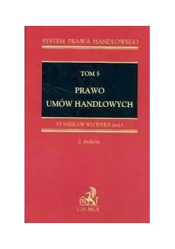 Prawo umów handlowych Tom 5