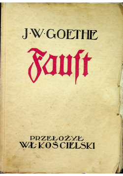 Faust 1926 r.