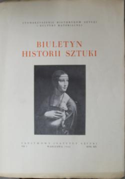 Biuletyn Historii sztuki nr 3 1952