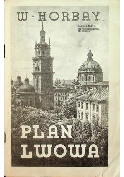 Plan Lwowa Reprint 1938 r.
