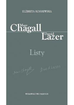 Marc Chagall-Dawid Lazer. Listy