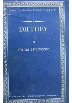 Dilthey Pisma estetyczne