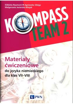 Kompass Team 2 Materiały ćwiczeniowe do języka niemieckiego 7-8