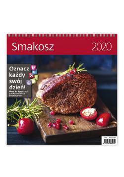 Kalendarz wieloplanszowy Smakosz 30x30 2020