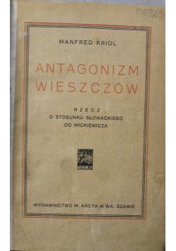 Antagonizm wieszczów 1925r