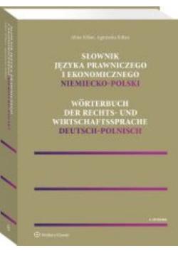 Słownik języka prawniczego i ekonomicznego polsko-niemiecki
