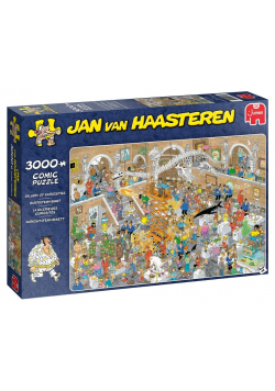 Puzzle 3000 Haasteren Wystawa ciekawostek G3