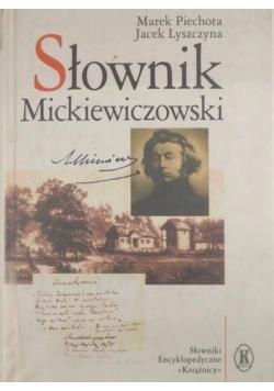 Słownik Mickiewiczowski