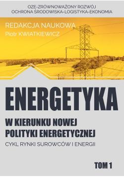 Energetyka w kierunku nowej polityki energetycznej t.1 / Fundacja na rzecz Czystej Energii