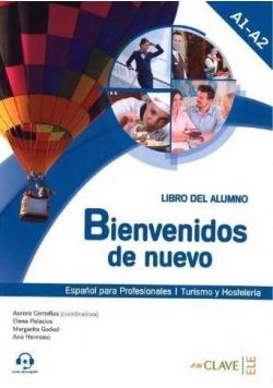 Bienvenidos de nuevo A1-A2 podręcznik