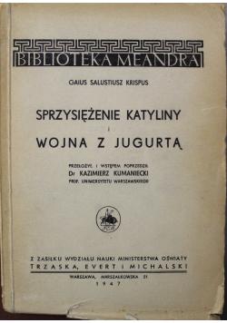 Sprzysiężenie Katyliny i Wojna z Jugurtą 1947 r.