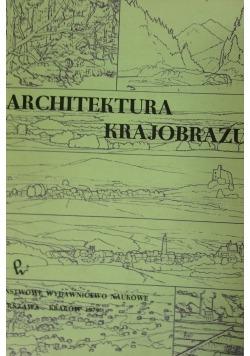 Architektura krajobrazu