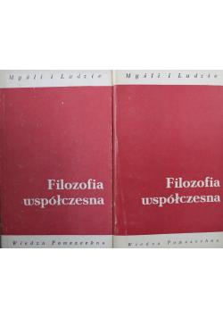 Filozofia współczesna 2 Tomy