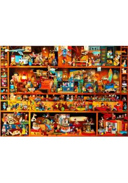 Puzzle 4000 Półki pełne zabawek