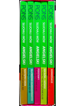 Słuchaj i mów Angielski Kurs językowy 5 tomów