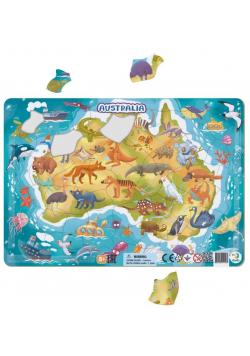 Puzzle ramkowe 53 Australia