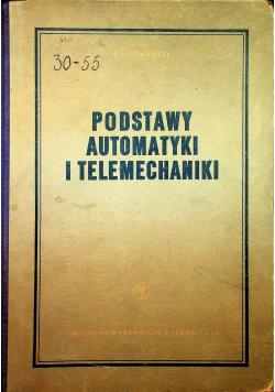 Podstawy automatyki i telemechaniki