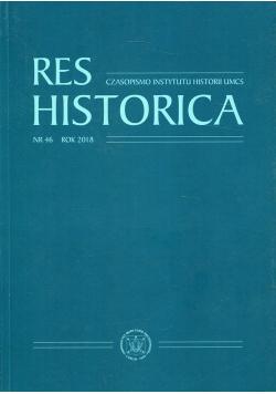 Res Historica Nr 46 Rok 2018