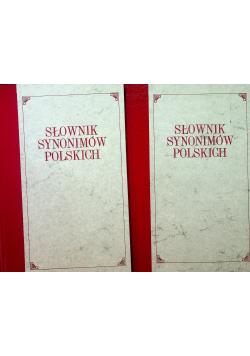 Słownik synonimów polskich 2 tomy reprint z 1885 r