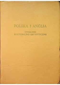Polska i Anglia Stosunki kulturalno artystyczne