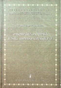 Zagadnienia pracy u Św Tomasza z Akwinu
