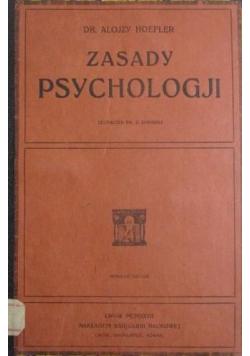 Zasady psychologji 1927r