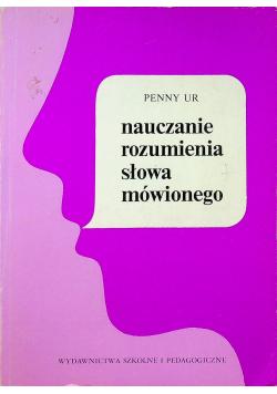 Nauczanie rozumienia słowa mówionego