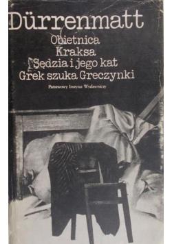 Obietnica Kraksa Sędzia i jego kat Grek szuka Greczynki