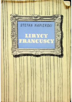 Lirycy francuscy Tom I 1936 r.