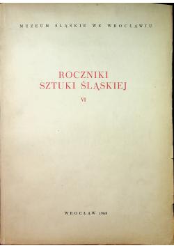 Roczniki sztuki śląskiej VI