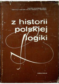 Z historii polskiej logiki