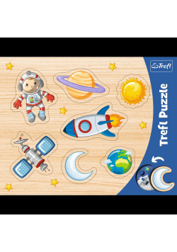 Ramkowe układanki kształtowe - Kosmos TREFL