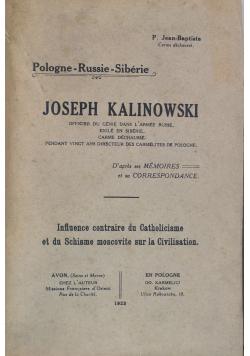Joseph Kalinowski 1923 r