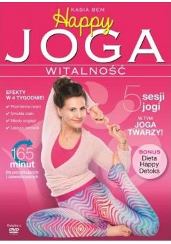 Happy Joga. Witalność + DVD