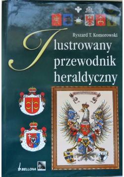 Ilustrowany przewodnik heraldyczny plus autograf Komorowskiego