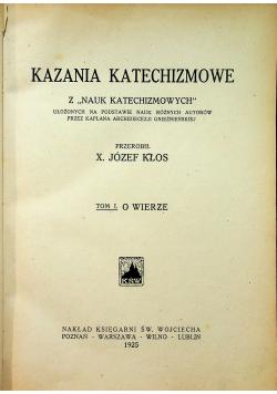 Kazania katechizmowe 1925 r