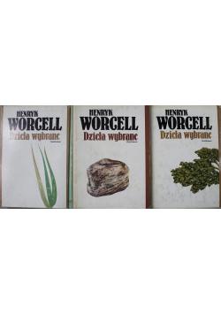 Worcell Dzieła wybrane Tomy od 1 do 3