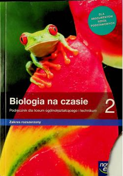 Biologia Na czasie podręcznik 2
